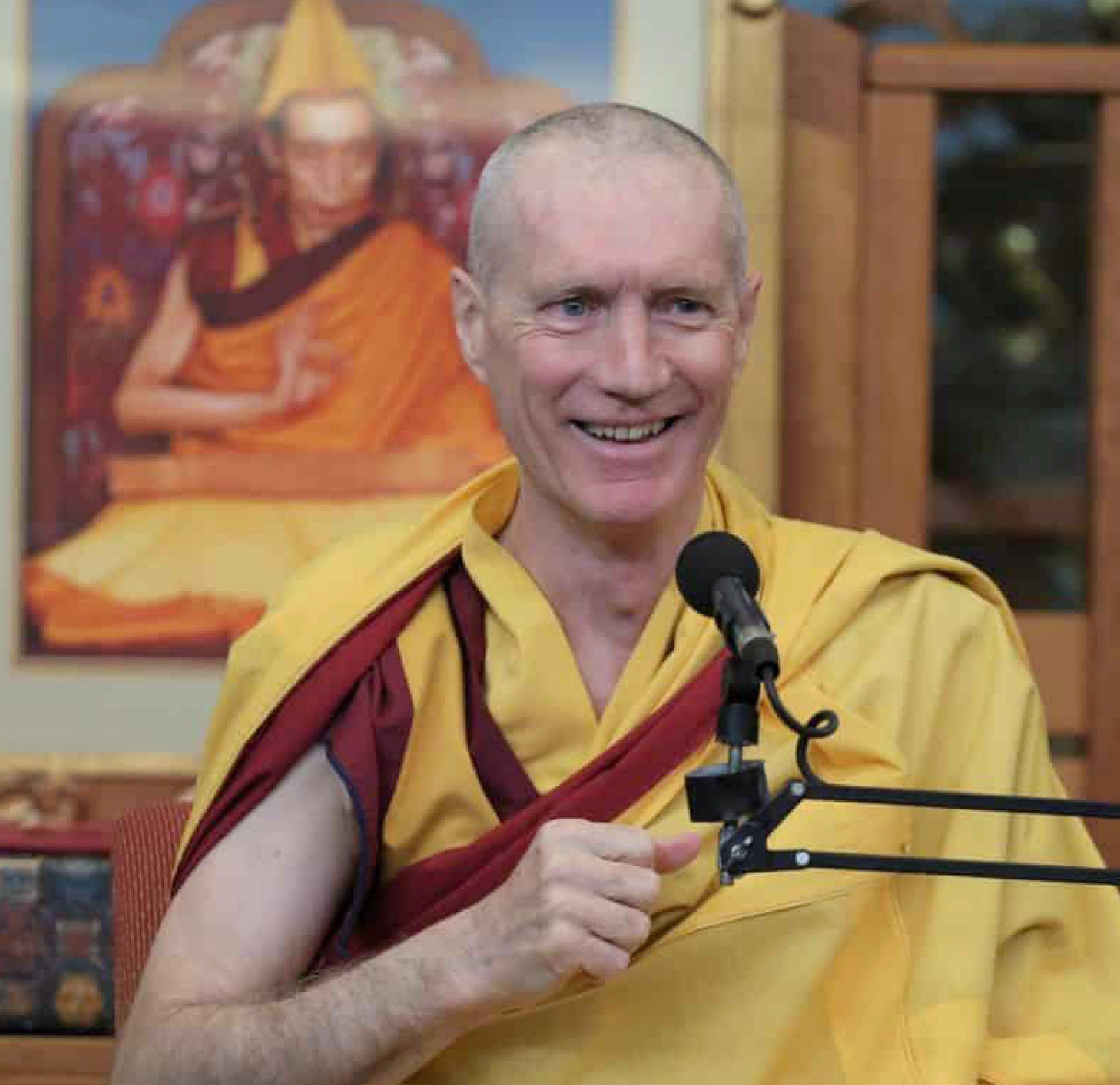Gen-la Khyenrab, the Canadian National Spiritual Director of the New Kadampa Tradition